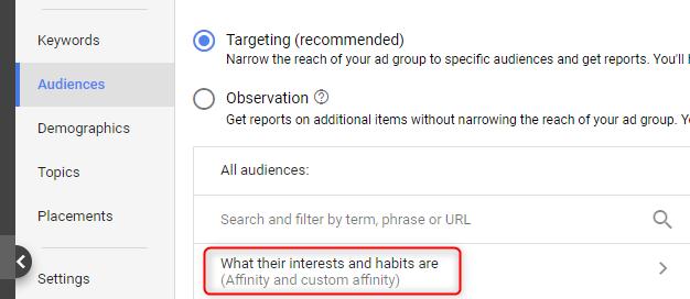 targeting-options-custom-affinity-audiences