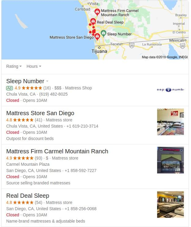 customer feedback used in Google map
