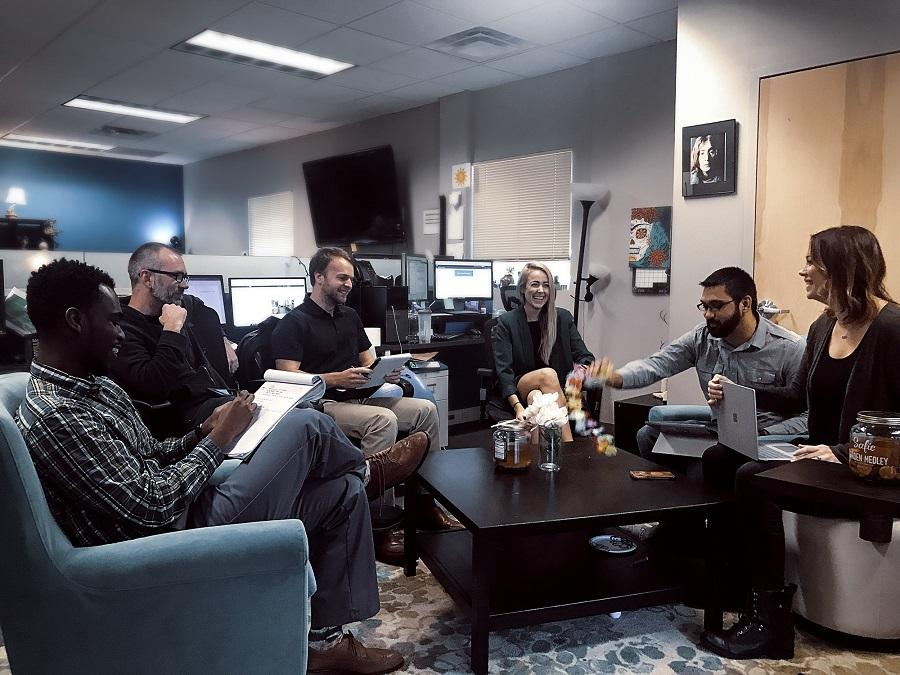 Vizergy staff meeting