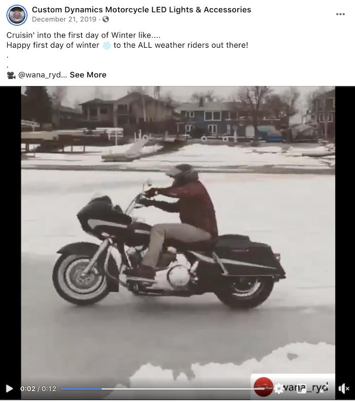 december marketing ideas - first day of winter