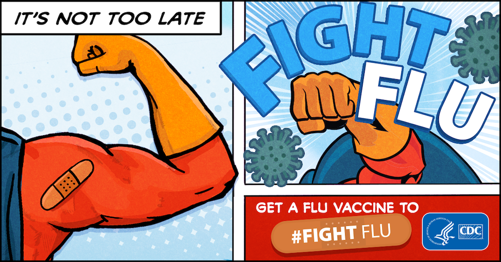 december marketing ideas - national flu vaccine week