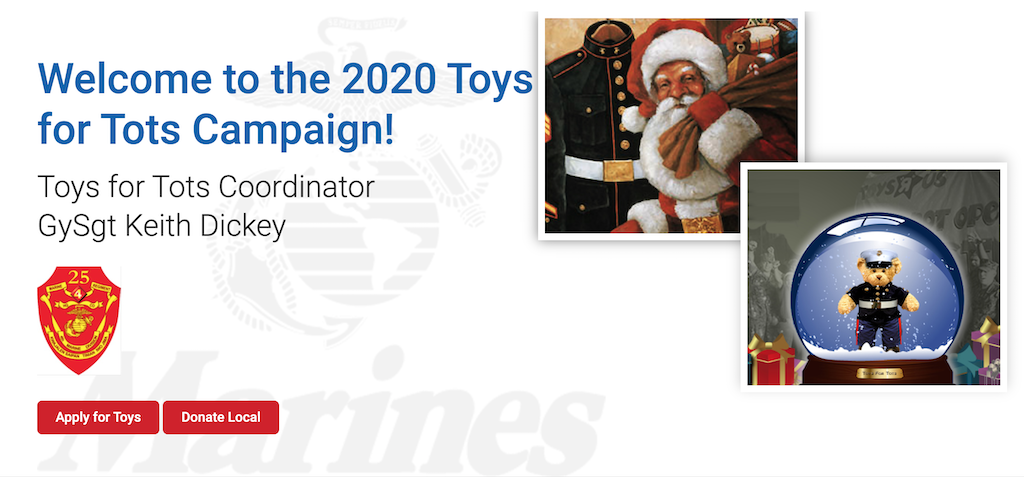 december marketing ideas - toys for tots