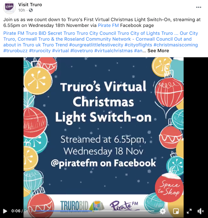 december marketing ideas - virtual party