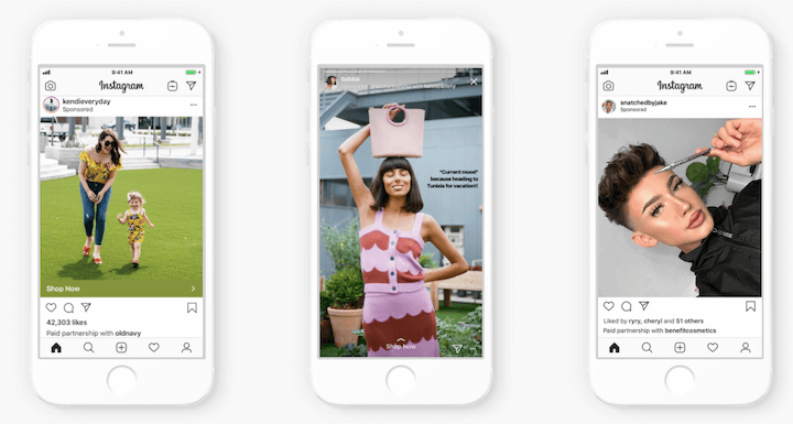 instagram branded content ads homepage