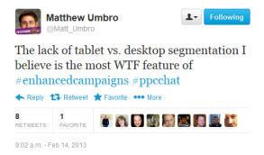 tweet device level bid adjustments