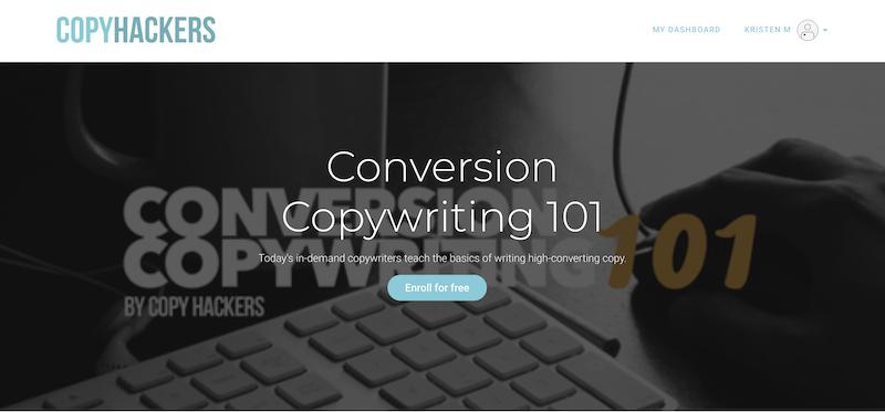 copywriting de conversão de habilidades de marketing digital 101