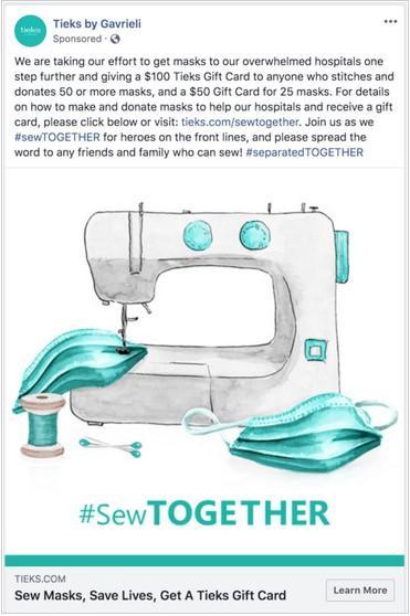 在Facebook上缝制广告