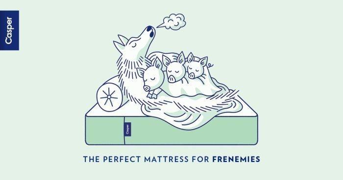Casper mattress ad example