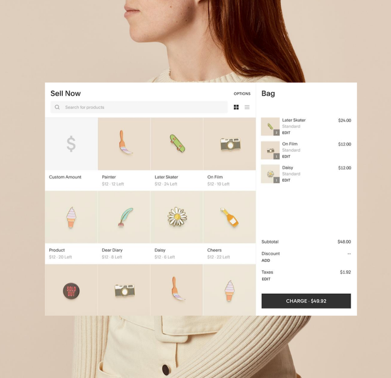 ecommerce tools for local business squarepace