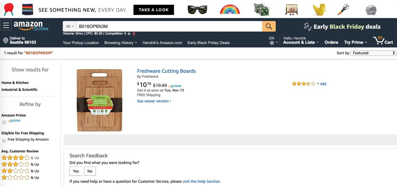 ecommerce brand bidding amazon search