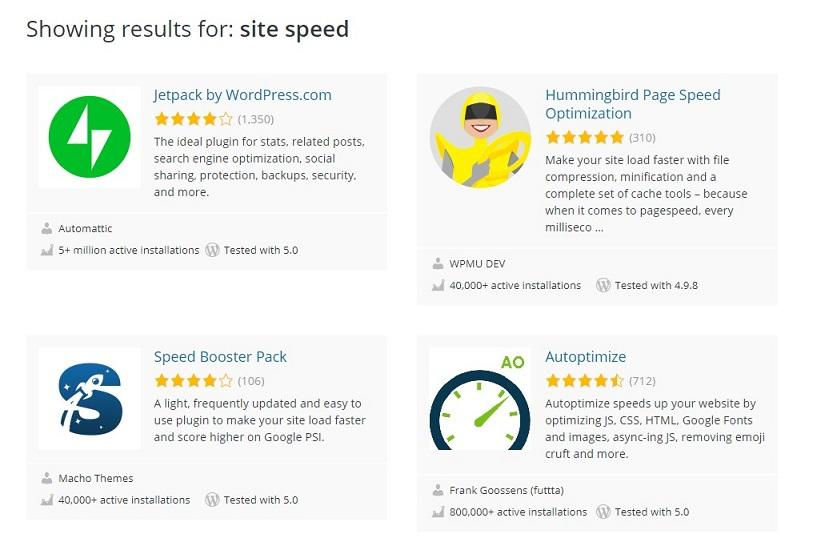 ecommerce site speed