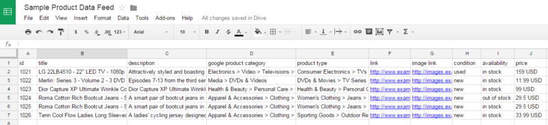 ecommerce-ppc-sample-data-feed