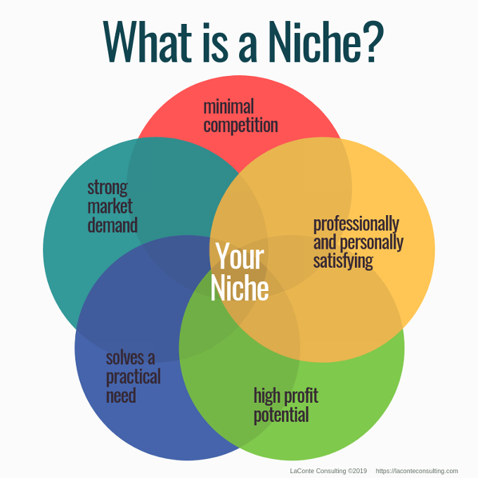 Effective brand strategy what is a niche