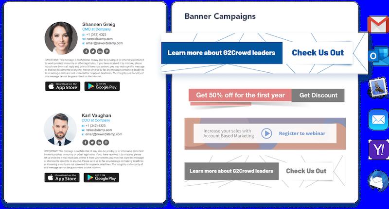e-mail aláírás marketing trendjei 2021-ben 14. példa