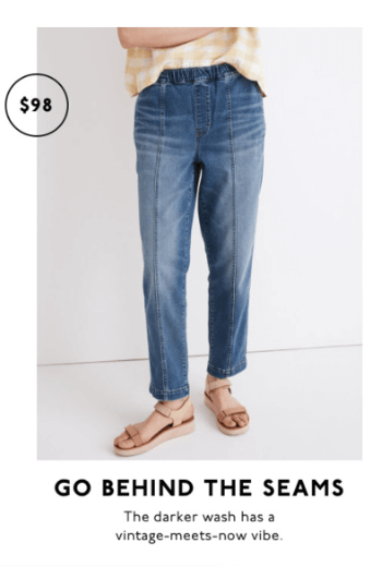 email copywriting tips stay on brand like madewell with puns