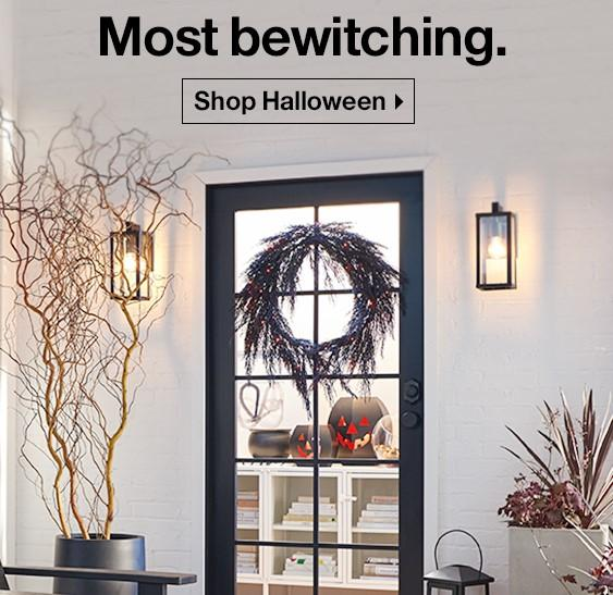 Crate & Barrel Halloween email
