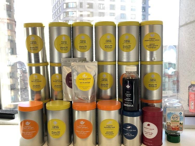 Patrick Henry's David's Tea collection