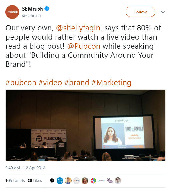 event marketing with hashtags