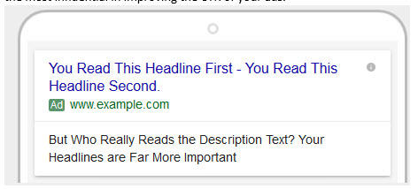 messaging expanded text ads