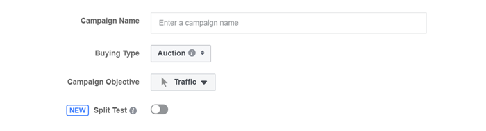facebook ad goal auction or reach and frequency