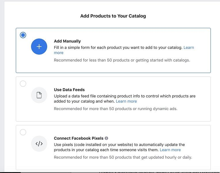 Facebook ad transparency ecommerce strategy add products