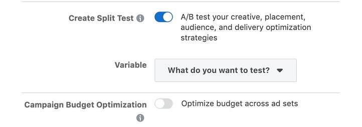 Facebook ads Campaign Budget Optimization