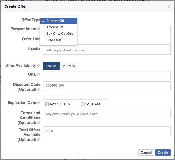 Facebook Ads for Entrepreneurs Offer Ads