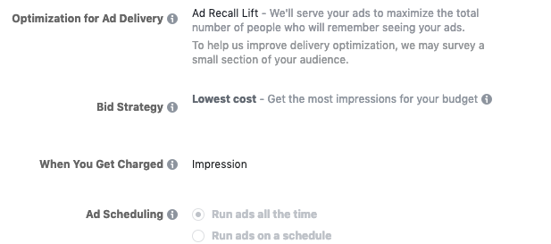 Facebook Ads for Entrepreneurs Brand Awareness