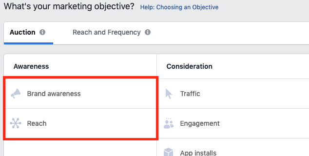 Facebook Ads for Entrepreneurs Objectives