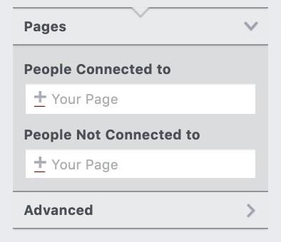 """pages"" option in Facebook"