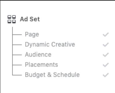 Facebook Lead Ads vs. Landing Pages Ad Set