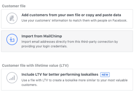 Facebook Lead Ads vs. Landing Pages Import
