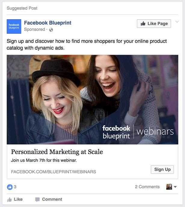 Facebook lead ads event promotion