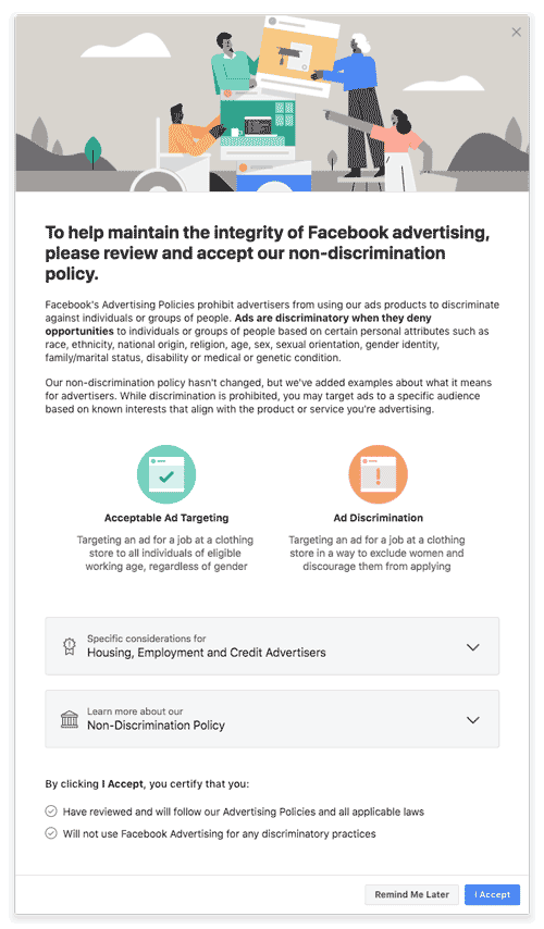 advertiser-certification-facebook-removes-targeting-options