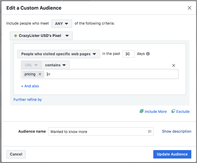 facebook-retargeting-price-plans