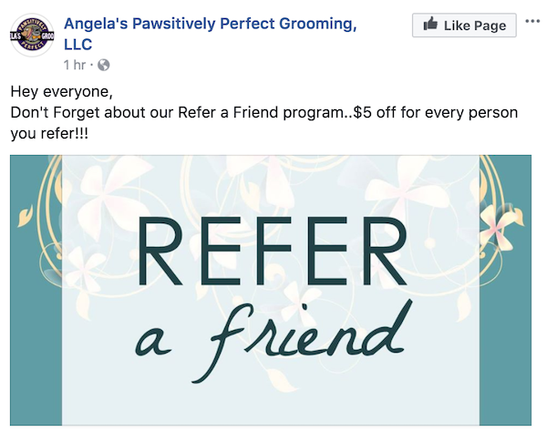 february marketing ideas refer a friend
