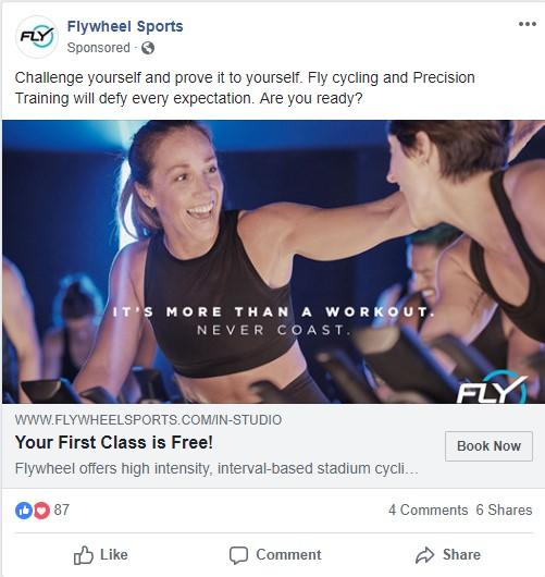 fitness remarketing offer