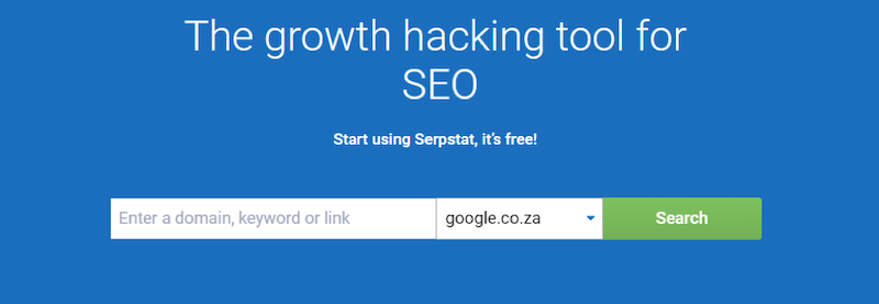 free LSI keywords SERPstat