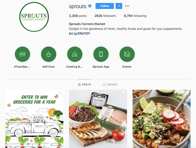 free ways to promote your instagram account sprouts farmers market