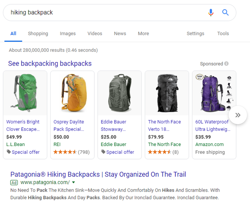 free-keyword-niche-finder-hiking-backpack