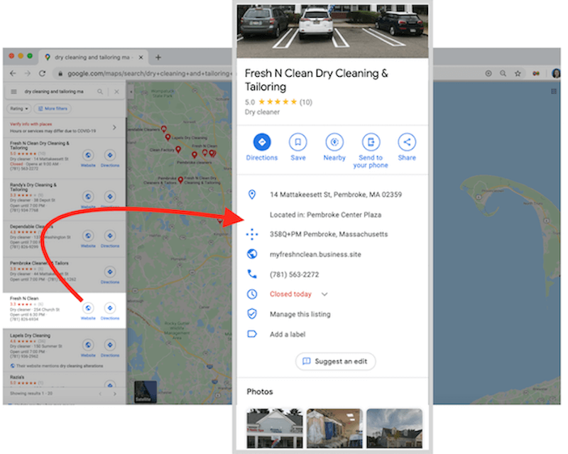 free and low budget marketing ideas google my business profile in maps