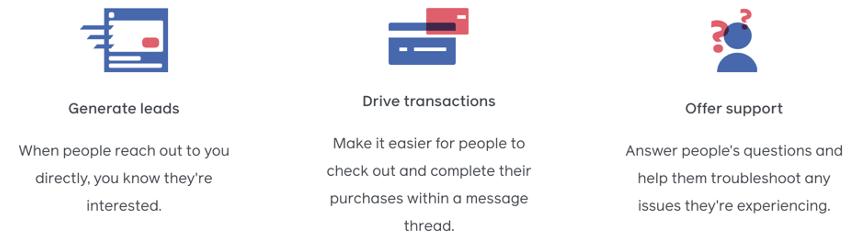 facebook messenger ad benefits
