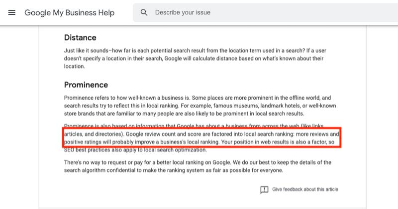 get more google reviews reviews influence local rank