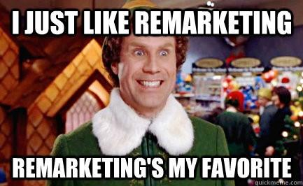 Elf remarketing gif