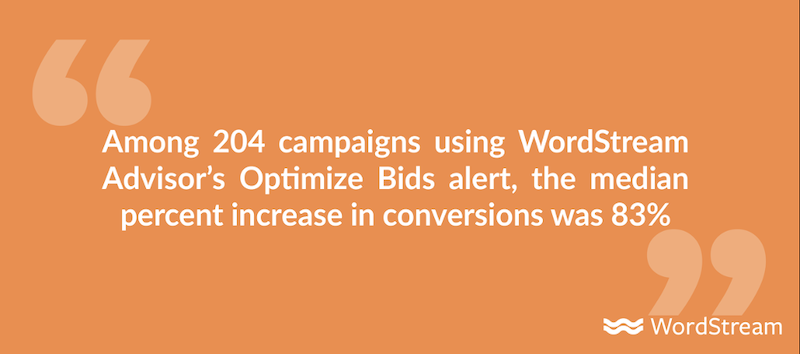 google ads automated bidding optimize bids alert increase conversions