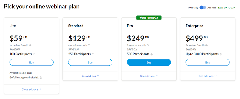 google ads price extensions monthly or annual billing