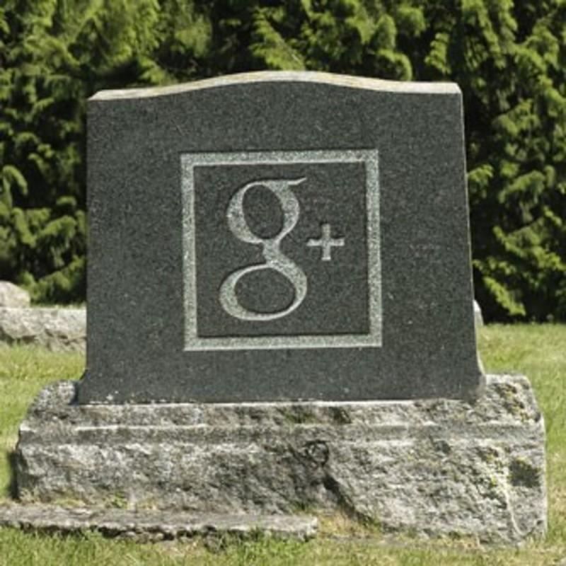 headstone google+ and youtube split up