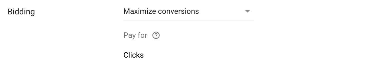 Maximizar conversiones