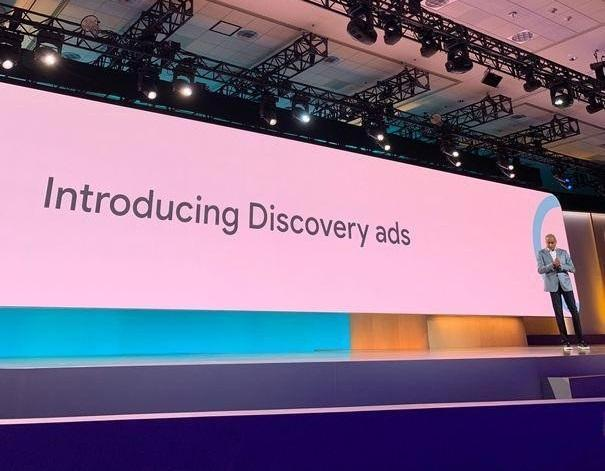 Google Discovery ads announcements