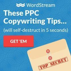 an example display ad from WordStream
